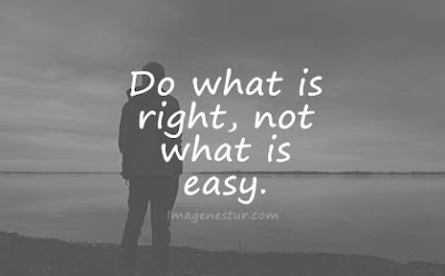 short quotes do what is right not what is easy