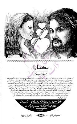 Free download Yaktara novel by Abbdurrub Bhatti pdf