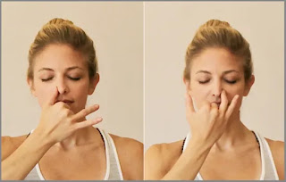 Easy and Effective Yoga Poses to Sleep Fast - Alternate Nostril Breathing Yoga