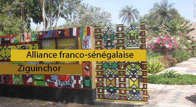 ALLIANCE FRANCO-SENEGALAISE DE ZIGUINCHOR :Tourisme, hôtel, plage, culture, vacance, parcs, médiathèque, Alliance, LEUKSENEGAL, Sénégal, Dakar, Afrique