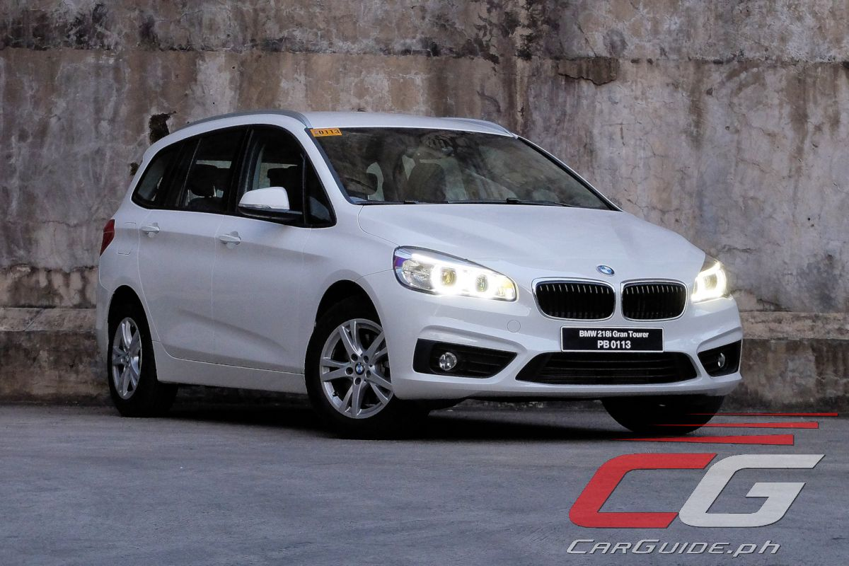 review bmw 218i gran tourer philippine car news car. Black Bedroom Furniture Sets. Home Design Ideas
