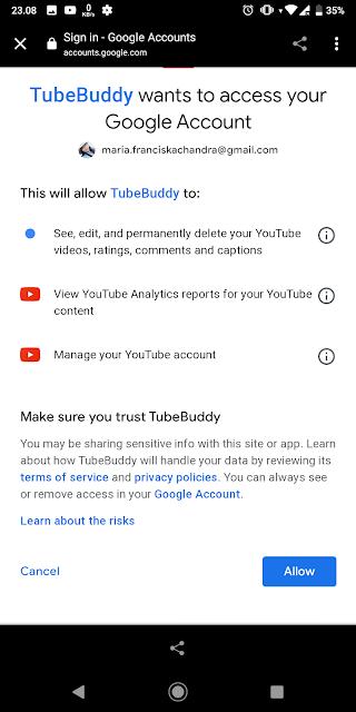 Cara menggukan aplikasi Tubebuddy