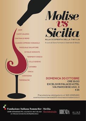 Tintilia del Molise - Degustazione di vino a Palermo con la Fondazione Italiana Sommelier