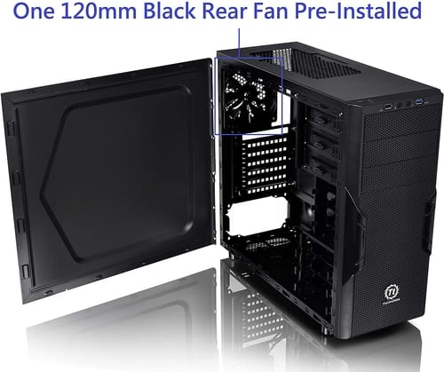 Review Thermaltake Versa H22 Black ATX Mid Computer Case