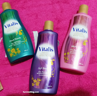 vitalis perfumed moistuzing body wash