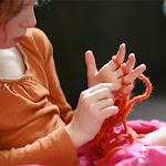 Finger Knitting How To