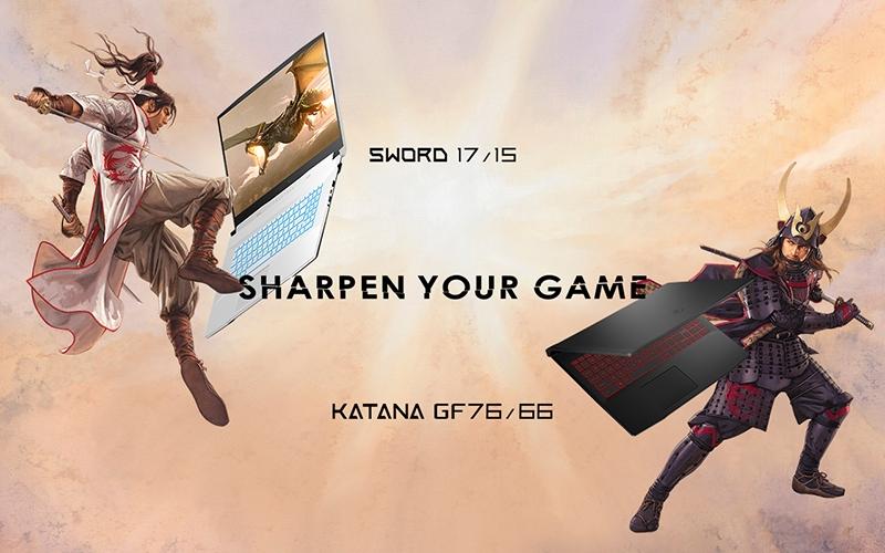 MSI Sword 17/15 and MSI Katana GF76/66