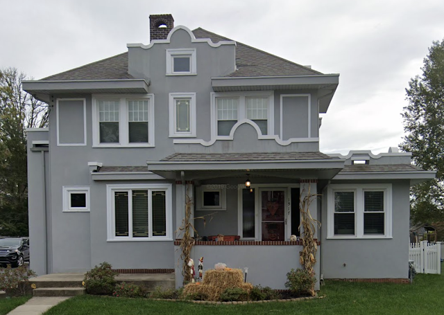 1517 Ashton Rd, Havertown, PA Sears Alhambra model front view from Google streetview