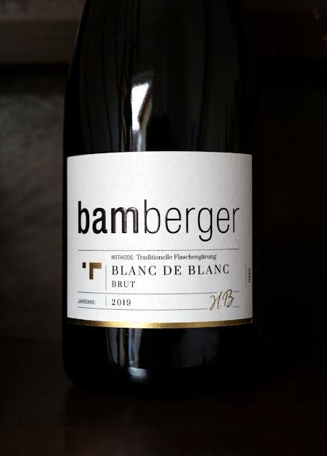 Blanc de Blanc Sekt aus dem Sektgut Bamberger