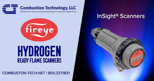 Hydrogen Ready Flame Scanners