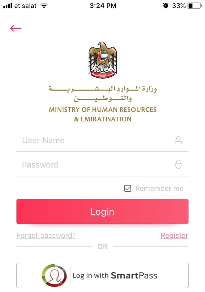 mohre account login