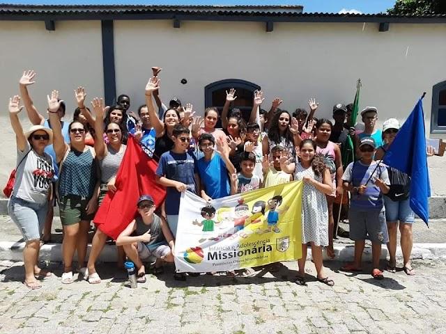 Acampadentro da IAM da Arquidiocese de Niterói