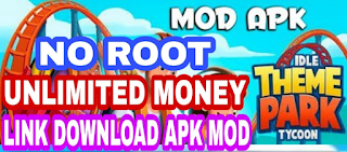 Download Game Idle Theme Park Tycoon Mod Money di Android