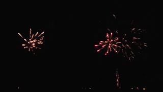 νεος έτος 2020 στα Τρίκαλα- πυροτεχνήματα