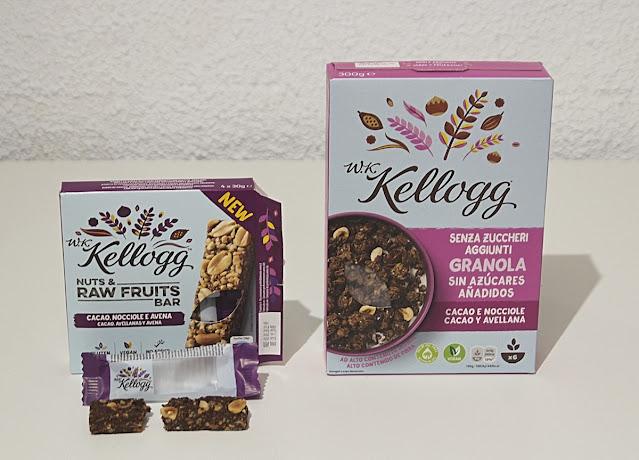 W.K.Kellogg Sin Azúcares Añadidos Cacao y Avellanas