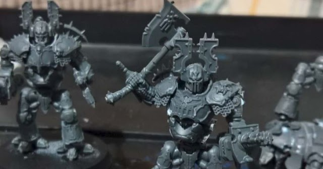 What's On Your Table: Titanicus Kytan Knights