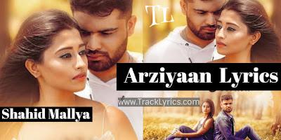 arziyaan-lyrics