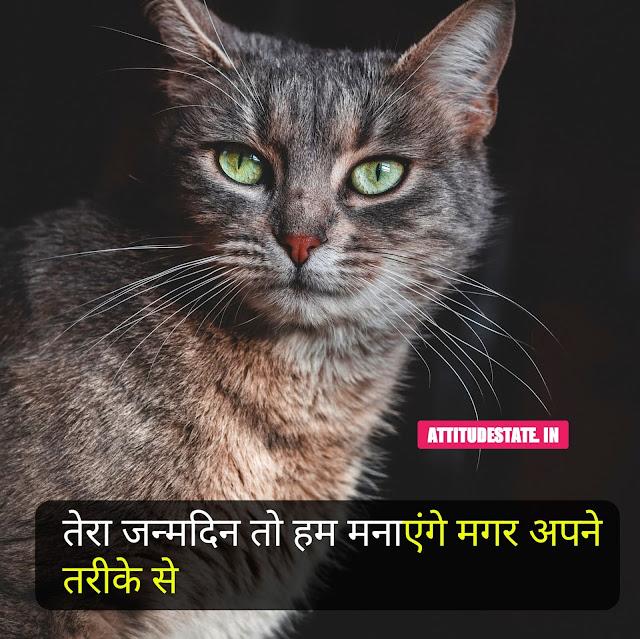 Birthday Attitude Status In Hindi
