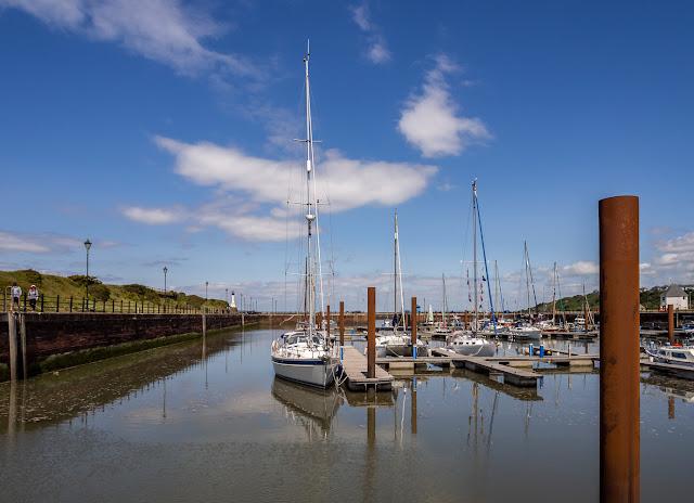 Photo of sunny Saturday at Maryport Marina
