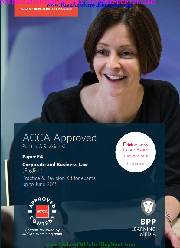 2015-ACCA-F4-REVISION KIT-CORPORATE AND BUSINESS LAW (ENG)