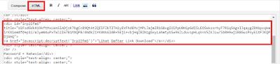 Paste HTML Code di Postingan Blog - Ardhinw
