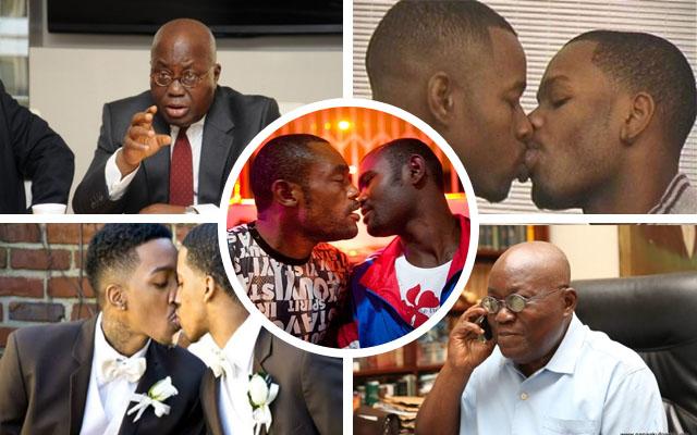 Ghana president homosexuality