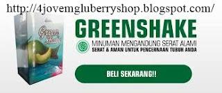 Green shake, minuman kesehatan dari 4jovem