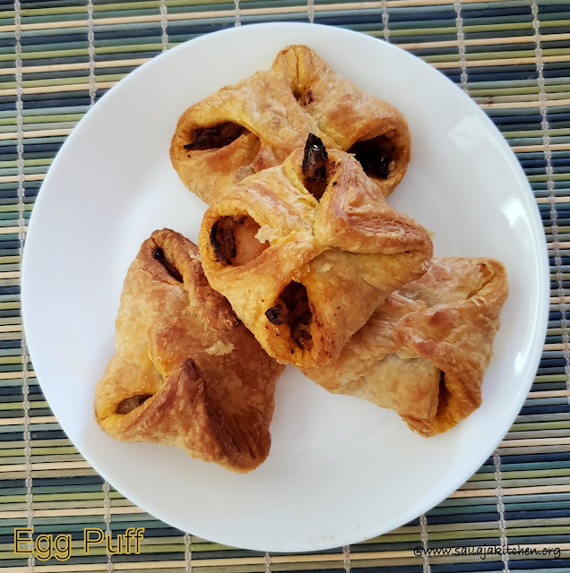 images of Egg Puff In Air Fryer / Egg Puff
