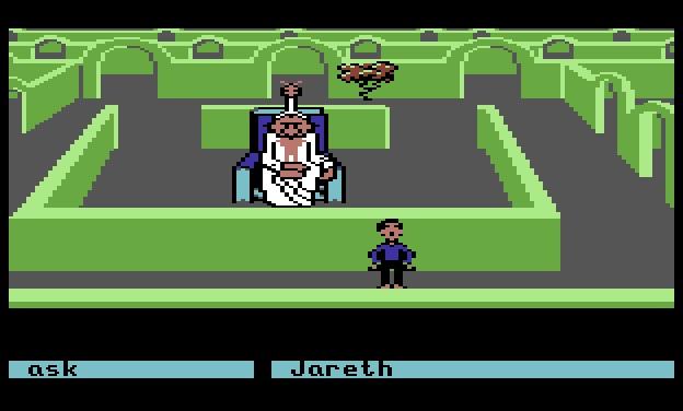 Encuentro con Jareth en el juego
