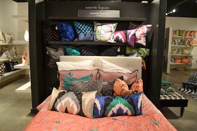 Nanette Lepore pillows for Peking Handicraft