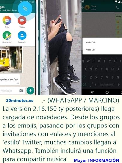 Videollamadas una de las grandes actualizaciones de Whatsapp este 2016.