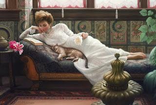 sorprendente-realismo-pinturas-escenas-con-mujeres-y-niños mujeres-niños-pinturas-arte-realista