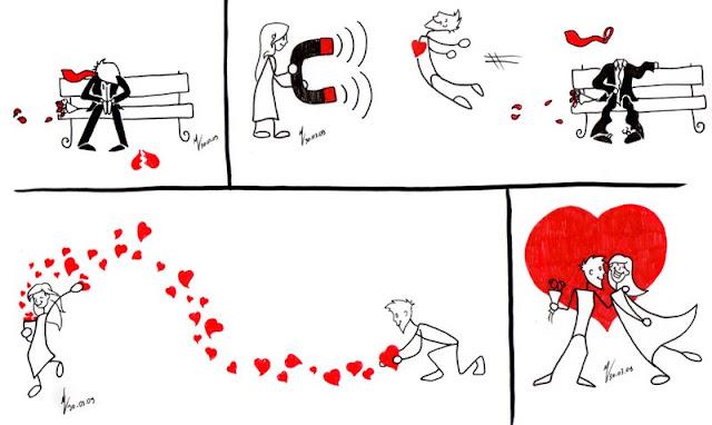 Desenhos De Amor Para Namorado: IMAGENS DE AMOR EM DESENHOS