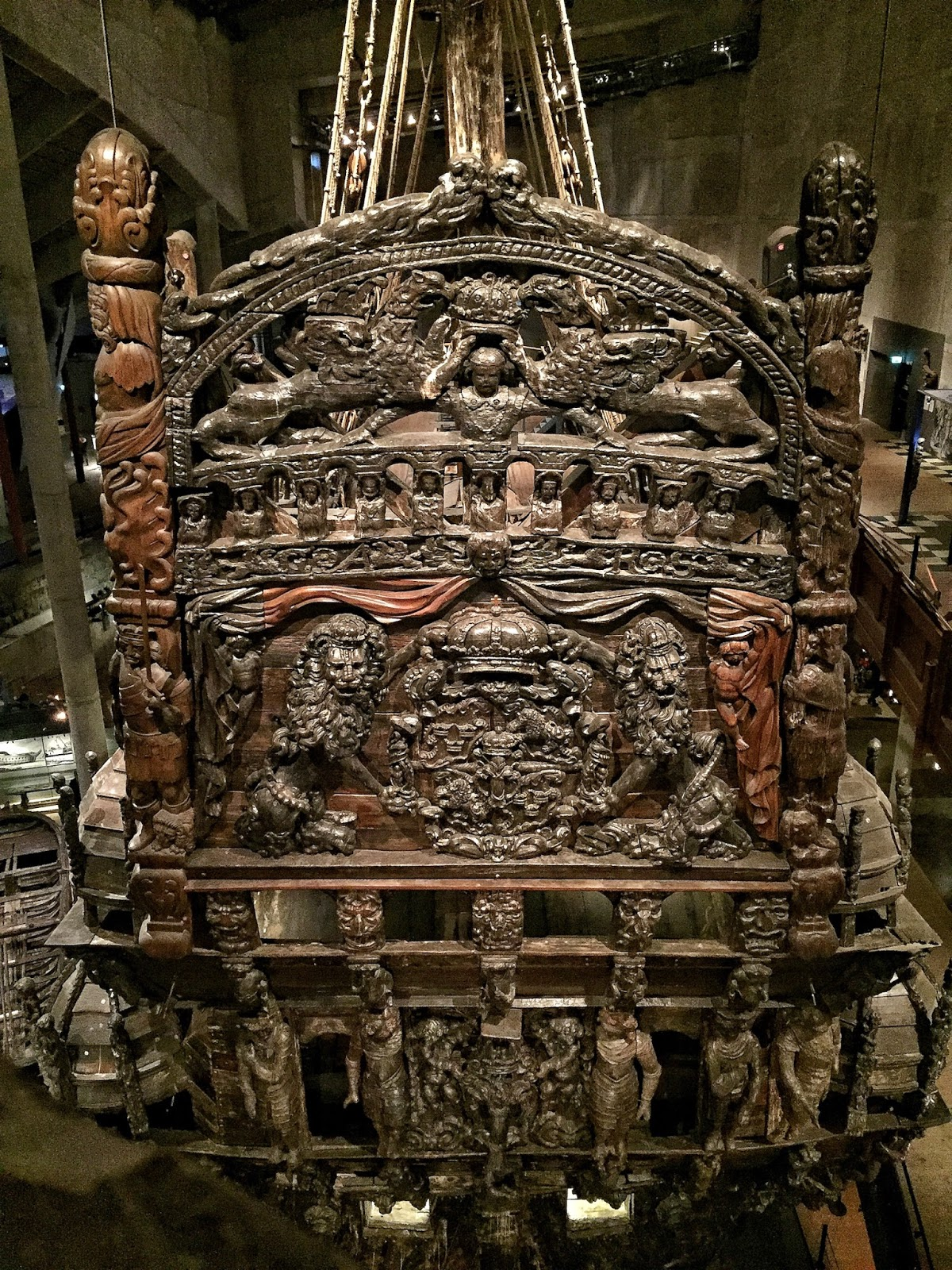 Travel diary stockholm sweden vasa museum