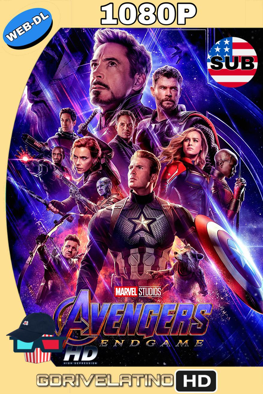 Avengers: Endgame (2019) (DIGITAL EXTRAS) AMZN WEB-DL 1080p (SUBTITULADO) MKV