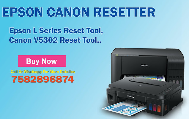 Reset Epson Canon Printer Online Just In 5 Minute At Your Home