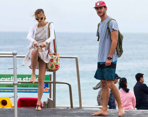 Pierre Casiraghi And Beatrice At The Bondi Beach In Sydney