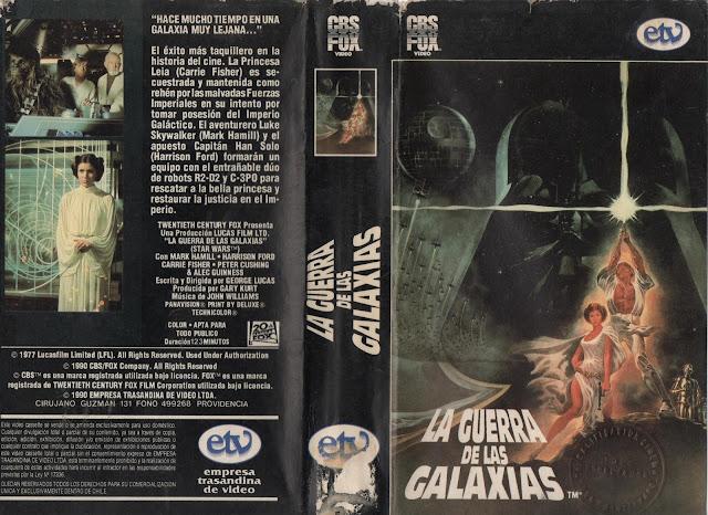 """Pelicula: """"La Guerra de las Galaxias"""" - Version original 1977"""