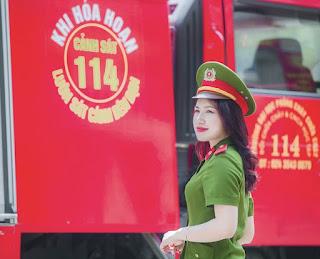 Nữ thủ khoa đầu ra của ĐH Phòng cháy Chữa cháy