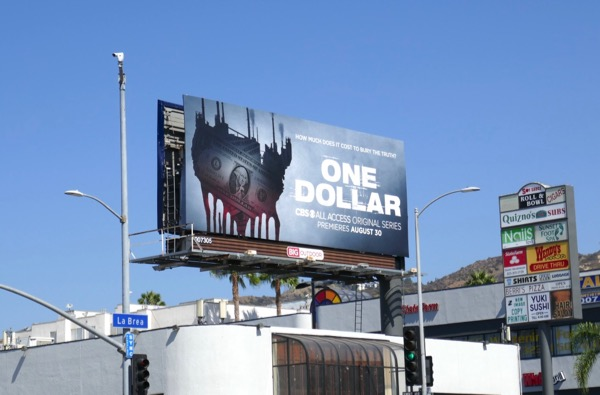 One Dollar TV series billboard