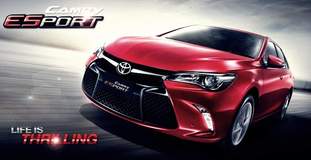 2016 Toyota Camry ESport Thailand Rumors Reviews
