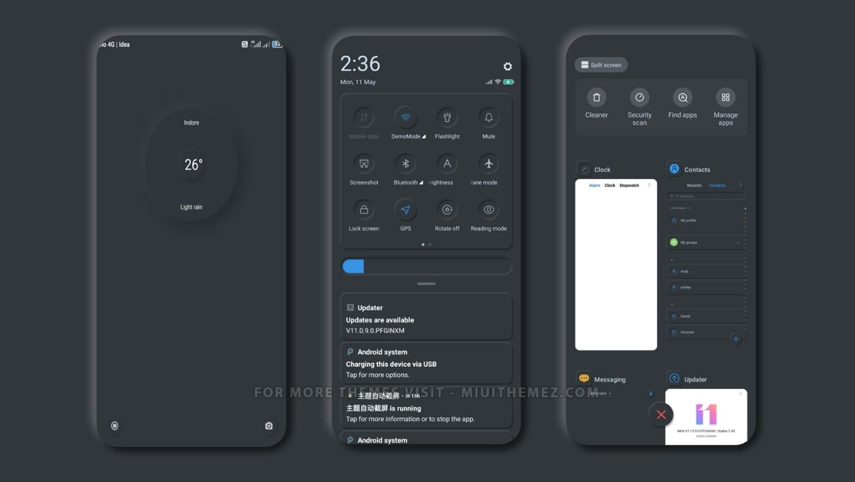 Dark Night MIUI Theme
