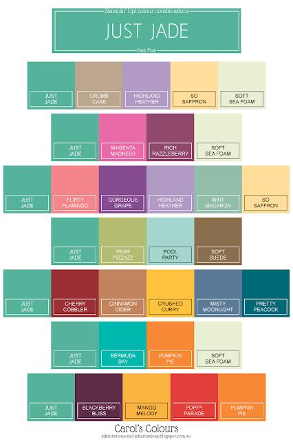 Just Jade colour combination Part Five