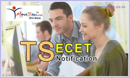 Telangana ECET Notification 2020