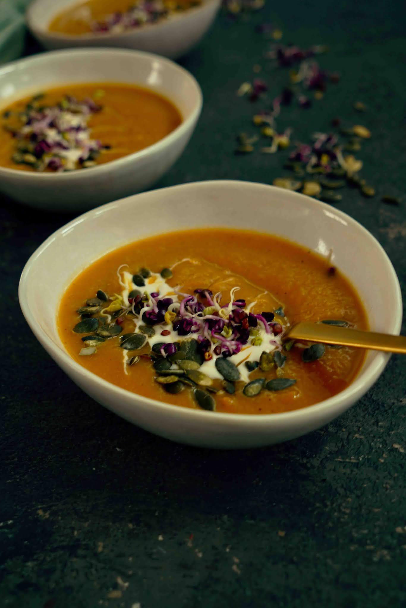 soupe gourmande de légumes