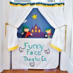 Pillowcase Puppet Theater step 5