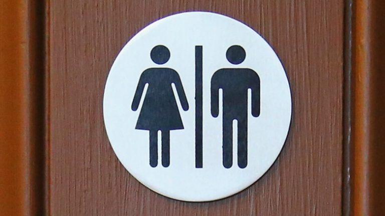 porta do banheiro