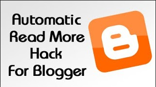 How to add auto read more to awesome inc blogger template