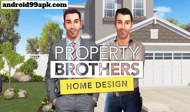 لعبة Property Brothers v1.3.5g مهكرة بحجم 108 MB للأندرويد