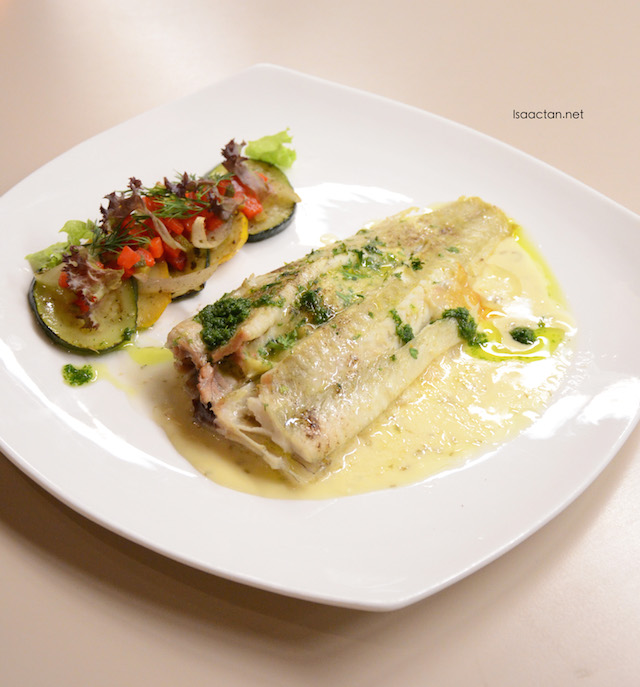 Baked NZ Whole Sole - RM26